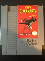 WRATH OF THE BLACK MANTA - NINTENDO NES - GAME ONLY - FREE S/H