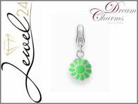 DREAM CHARMS Damen Charm Blume Anhänger echt Silber 925 Sterling rhodiniert