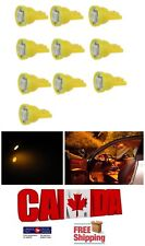 10pcs Amber Yellow T10 194 168 1SMD LED Car Auto Side Lamp Dome Wedge Light Bulb