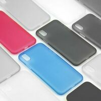 Ultra Slim Plastic Case Cover For New iPhone 11 Pro,7/8,X,XS MAX,XR Thin Profile