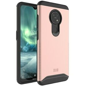 Designed for Nokia 7.2, TUDIA Slim-Fit MERGE Dual Layer Protective Cover Case