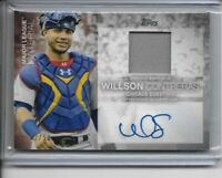 2020 Topps Update Wilson Contreras Autographed Relic Card #2/50 Chicago Cubs