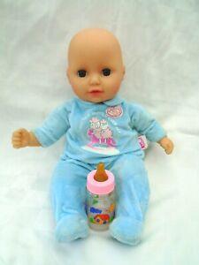 Zapf Creation My First Baby Annabell 36cm Doll Brother Brown Sleeping eye versio