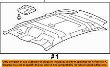 FORD OEM Interior-Roof-Headliner DT4Z7851944BA