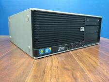 HP Z400 WORK STATION DESKTOP PC INTEL XEON 2.66GHz 6GB 250GB WINDOWS 10 FEDEX