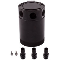 Universal Racing Baffled 3-Port Oil Catch Can/Tank/Reservoir Air-Oil Separator