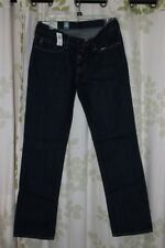 Abercrombie&Fitch Vintage Mens Low-Rise Slim Straight Jeans Dark Resin NEW 32x32