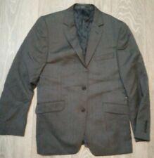 MENS  GREY subtle PINSTRIPE Suit JACKET Office JOHN LEWIS 38S