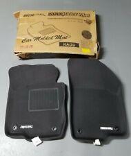 3D Maxpider Custom Fit Kagu Black Floor Mat Liners for Vw 2012-17 Passat