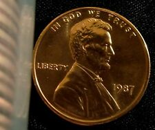 1987-P Philadelphia Mint Lincoln Memorial Cent BU