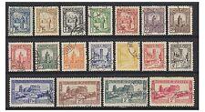 More details for tunisia - 1931, 1c - 5f short set (exc. 10f & 20f values) - f/u - sg 172/89