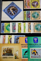Middle East Stamp Sets S/S Early Selection Mint NH Scarce