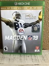 Madden NFL 19 - Hall of Fame Edition (Xbox One, 2018)