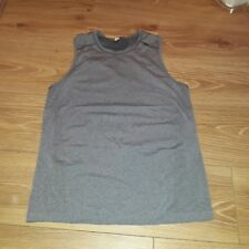 lulutemon athletica womens grey  shirt . size S