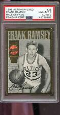 1994 1995 Action Packed 25 Frank Ramsey AUTO Signed Autograph Card PSA 8 PSA/DNA