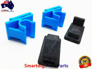 LOWER GLOVE BOX CLIP BUMP STOP SET MODIFIED FOR HOLDEN COMMODORE VY VZ WK WL x4