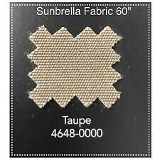 "Sunbrella Fabric 60"" Taupe 4 Yards"