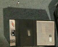 Tape Deck Cassette Deck Philips EL 3302 replacement belt set 07/1-02/1