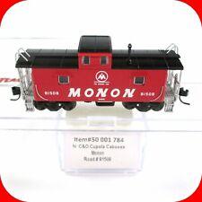 N Scale MON MONON Hoosier Line Cupola Caboose C&O #81508 - Atlas 50001784 **RARE