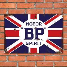 Replica BP Motor Spirit Sign Vintage Garage Car Old 12