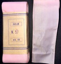 10m of VINTAGE  Pale Pink Ribbon 4cm wide