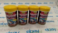 4 Tetra Baby Shrimp Fish Food 0.35oz Lot Of 4