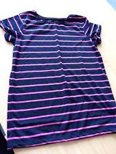 403313c69 Primark Chicas Azul Marino Rosa a Rayas T-Shirt