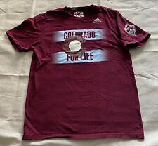COLORADO RAPIDS - Colorado For Life Adidas Go-To Shirt Men's Medium Soccer MLS