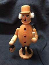 German Dregeno Smoker - Man with Latern & Pipe Excellent Condition w/ orig Box