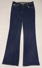 Baby Phat Jeans Size 14 Stretch Boot Cut Golden Cat Pocket Hip Hop Urban