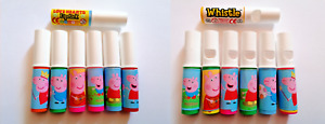 Swizzels Peppa Pig Whistles and Lip Sticks, Customised Sweets