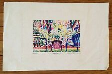 "Mark Erdelyi Signed Numbered 23/25 Dated ""Memories"" Print"