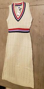 Sui by Anna Sui Natura Sweater Dress Women Size XL