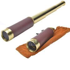 Outdoor 25x30 Zoom Brass Spy Scope Pirate Monocular Telescope Night Vision Gift