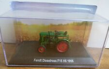 HACHETTE TRACTOR 1:43 FENDT DIESELROSS F15 H6 1956 IN PERSPEX DISPLAY CASE