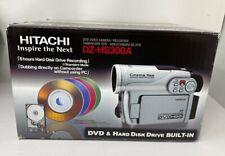 Hitachi DZ-HS300A Hybrid Video Camera/Recorder DVD & Hard Disk Drive BUILT-IN