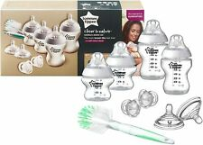 Tommee Tippee Complete Newborn Baby Starter Bottle Kit 4 Anti Colic Bottles 9pc