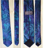 Ermenegildo ZEGNA cravatta artistica fantasia vivace stretta art strict Tie 996c9120b21