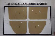 Holden HG, HT Sedan Door Cards, Blank Trim Panels. Manufactured in Australia