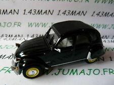 2CV16E voiture Norev citroën 2 CV n°137 KATIA noire
