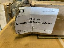 Jet Rail Set 52 For Hw110s 52p Harvey Industrial Cabinet Table Saw