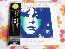 KLAUS SCHULZE mirage Japan MINI LP CD