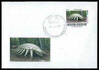 GERMANY DINOSAUR DINOSAURI DINOSAURIER - CUSTOM STAMP - ONLY 2 COVER MADE!! cp23