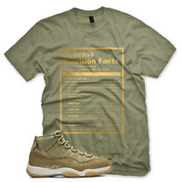 New SUCCESS FACTS T Shirt inspired by Jordan XI Retro 11 Neutral Olive
