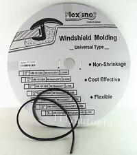 Flexline Windshield Auto Glass Universal Molding Flexible Trim Rubber 12.8mm 15'