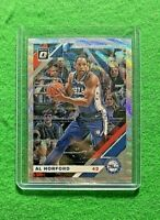 AL HORFORD PRIZM SILVER WAVE CARD 76ERS 2019-20 DONRUSS OPTIC BASKETBALL PRIZM