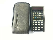 Hp-55 Scientific Calculator Vintage with Soft Leather Case, No Charger