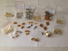 LEGO Mix Lot of Gold, Chrome, & Sliver (179 pieces) Coins, Rocks, Titles, Slopes