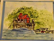TUG BOAT RETIRED U get photo #2 L@@K@examples ARTIMPESSIONS RUBBER STAMPS