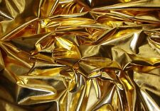 dance custom Lycra Spandex Metallic Gold 4 way stretch 60 wide fabric 50 YARDS